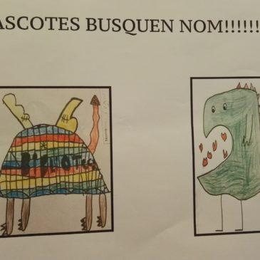 Les mascotes de la biblioteca busquen nom!!!