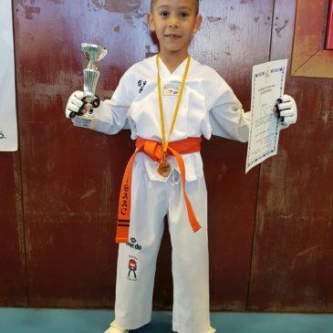 PRIMERA POSICIÓ al Campionat Infantil de Taekwondo de Catalunya!!!