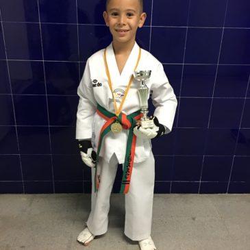 Primera Posició al Campionat Infantil de Taekwondo