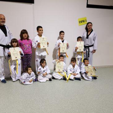 Canvi de cinturó de Taekwondo