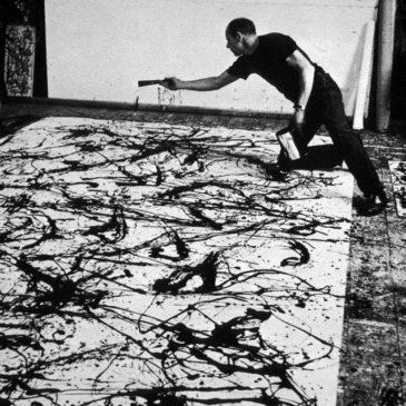 P3 A i B: Hem treballat el Jackson Pollock.