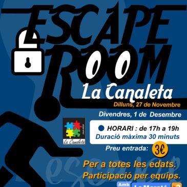 Comença l'Escape Room canaleter!!